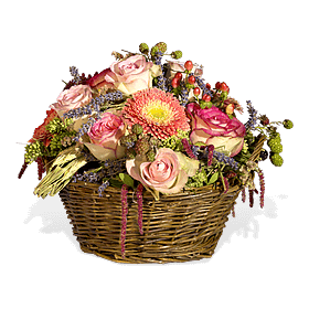 Berry flower basket