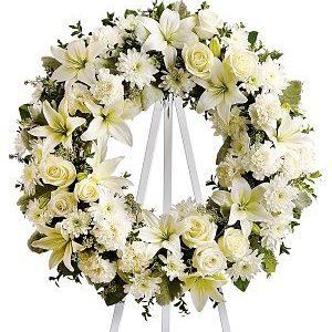 Funeral Flower Crown